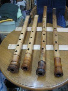 ~原粋鏡尺八工房の尺八作品集2~楽器屋さんからの持込み竹材で2~